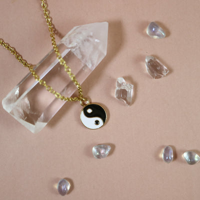 The harmony of Yin and Yang necklace