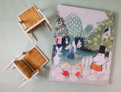 Moomin hard cover notebook Finn family