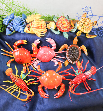 Jiggly sea creature magnets