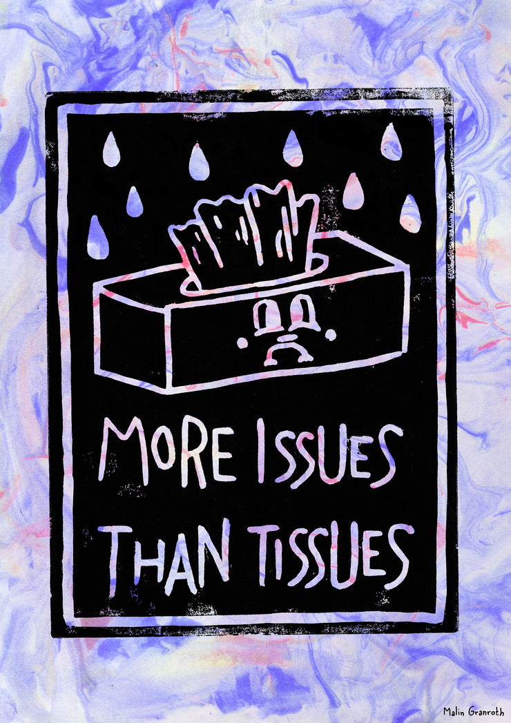 More issues A3 print By Malin Granroth