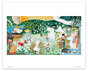 Moomin print the dangerous journey