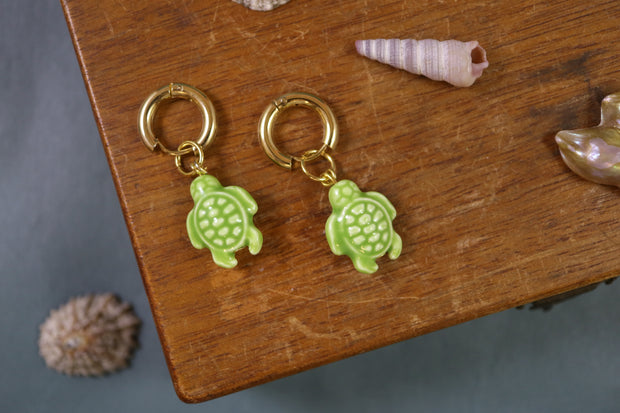 Chunky turtle earrings (Limited edition)
