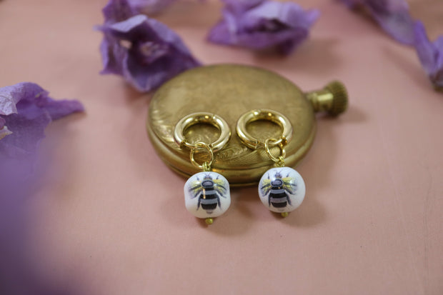 Chunky Bumblebee earrings (Limited edition)