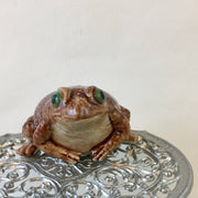 Miniature toad figurine
