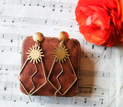 Sunshiny day earrings