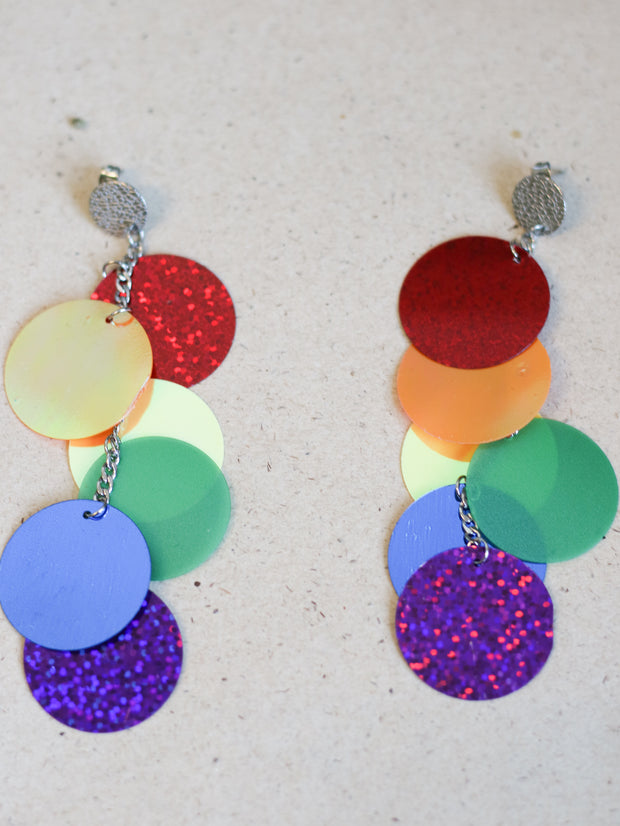 Giant sequin earrings (Limited edition)