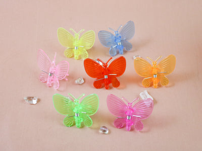 Butterfly tiny hairclip 10pcs
