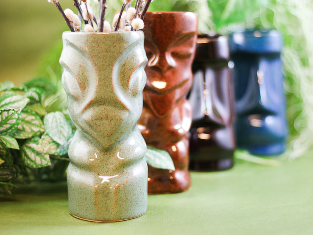 Sailor Lars tiki mug Moai cola brown
