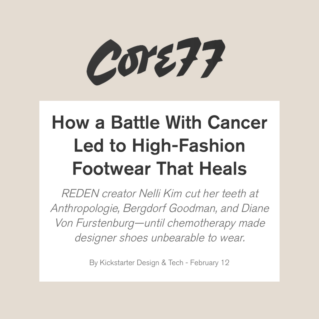 RĒDEN REDEN Core 77 Article How a Battle With Cancer Led to High-Fashion Footwear That Heals
