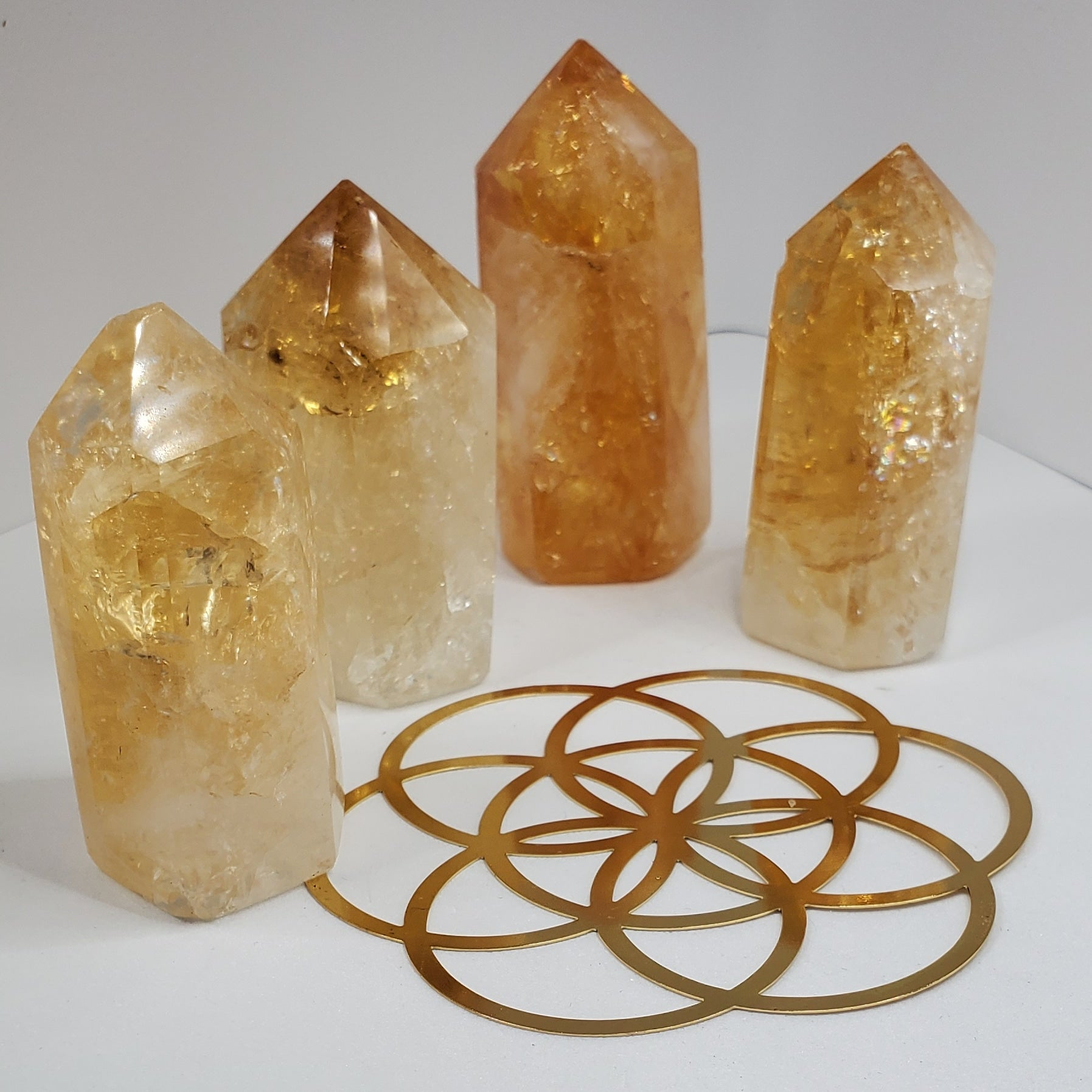 Citrine Points