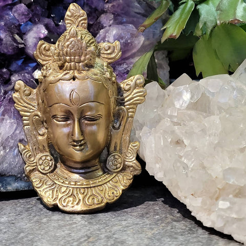 Solid Brass Tara Wall Hanging