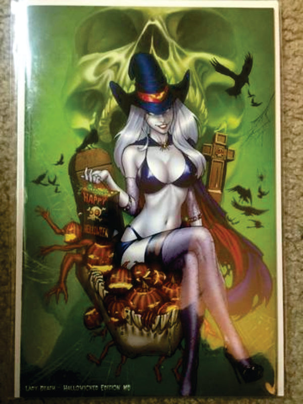 Lady death halloweed