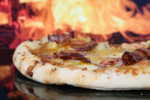 RECIPE - Smoked Salmon, Blueberry, Goat Cheese, Fennel Pizza