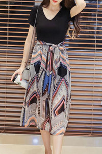 Sweet Heart  Printed Maxi Dress