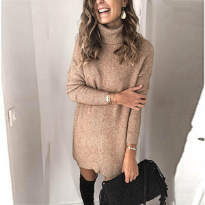 Women's casual loose knit sweater
