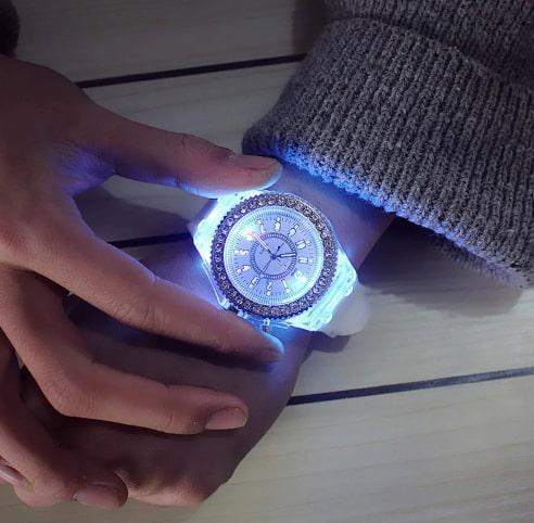 Montre lumineuse Femme / Homme