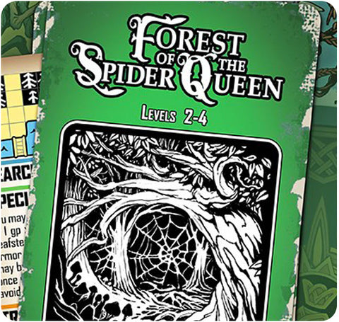 Four Against Darkness -  Forest of the Spider Queen - Dungeon Deck