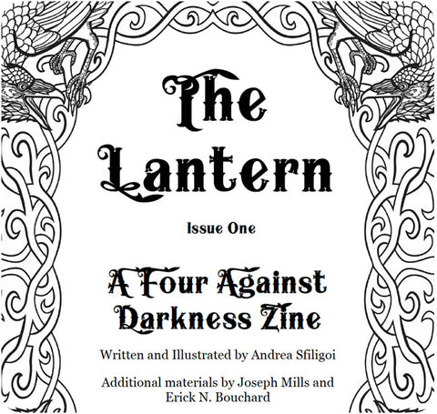 A Four Against Darkness Zine - The Lantern Issue 1