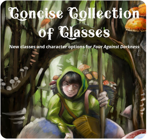 Four Against Darkness: Concise Collection of Classes