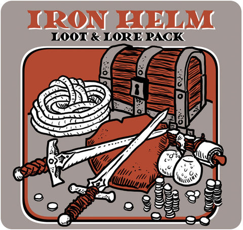 Iron Helm: Loot & Lore Pack