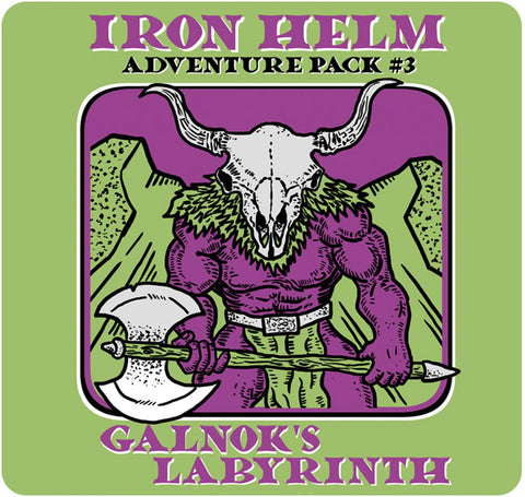 Iron Helm: Adventure Pack 3 – Galnok's Labyrinth
