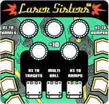 Paper Pinball: Laser Sisters Special Edition