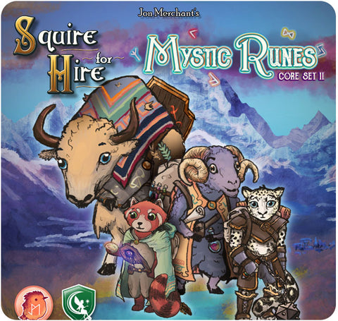Squire for Hire: Mystic Runes (Core Set 2)
