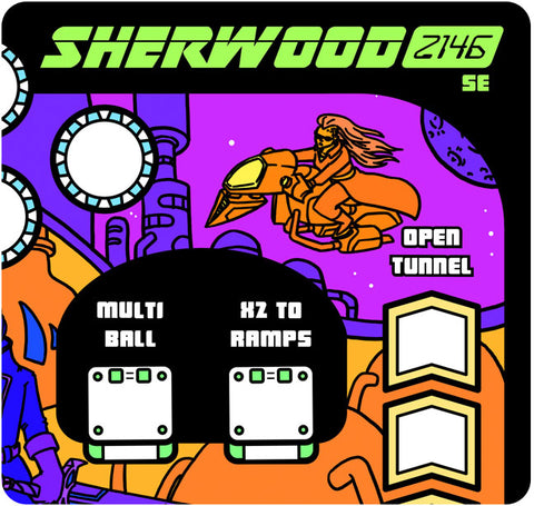 Paper Pinball: Sherwood 2146 Special Edition