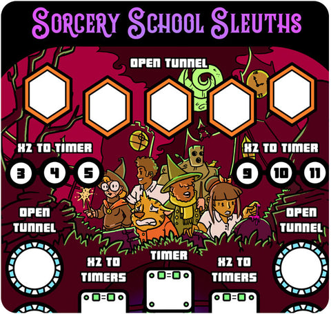 Paper Pinball: Sorcery School Sleuths
