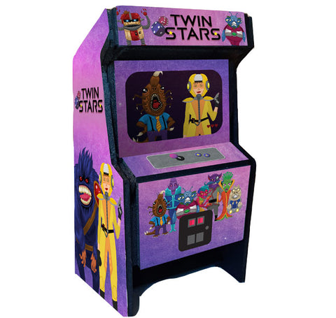 Twin Stars Dice Tower