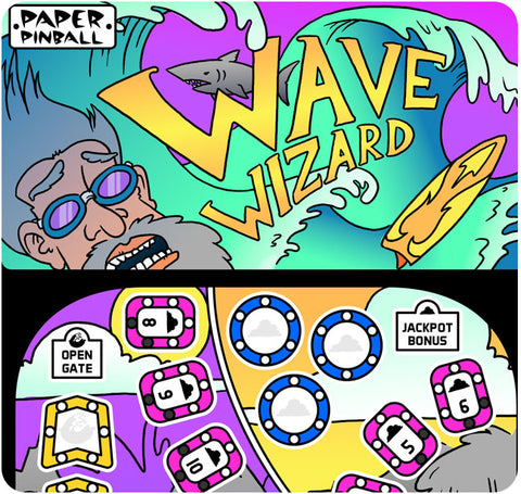 Paper Pinball: Wave Wizards