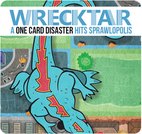 Sprawlopolis: Wrecktar, Construction Zones & Points of Interest
