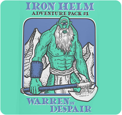 Iron Helm: Adventure Pack 1 – Warren of Despair