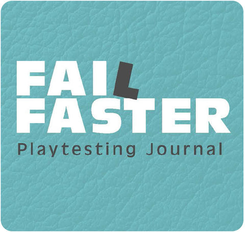 Fail Faster Playtesting Journal eBook