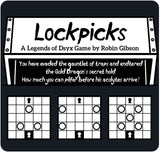 Legends of Dsyx: Lockpicks