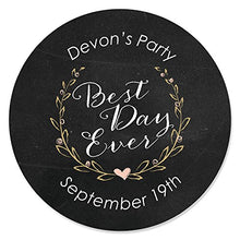 Load image into Gallery viewer, Custom Best Day Ever - Personalized Candle Tins Party Favors - Set of 12