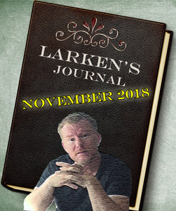 Larken's Journal eBook ~ November 2018