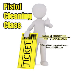 1 Ticket to Oct 26, 2019 Pistol Cleaning Workshop 5pm to 7pm