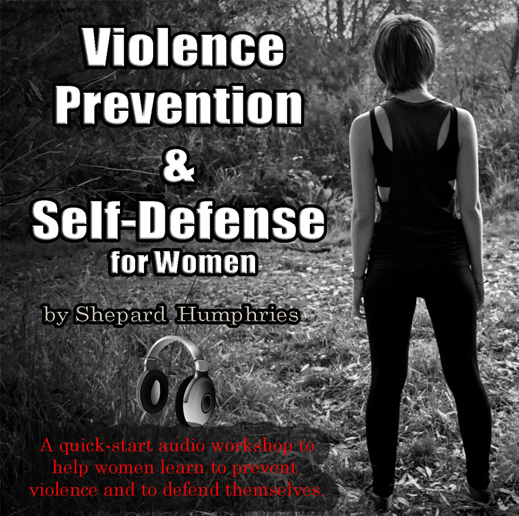 AudioBook - Violence Prevention & Self-Defense for Women