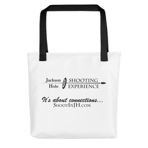 Tote bag for fun shooting accessories