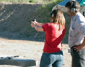 TWO hours of in-person PRIVATE instruction for Concealed Firearms Permit