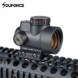 Inexpensive Chinese 1x25mm MRO 2.0 MOA Red Dot Scope Sight with Mount