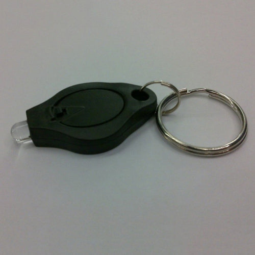AWESOME!  Portable Mini Size Keychain Squeeze Light Micro LED Flashlight keyring