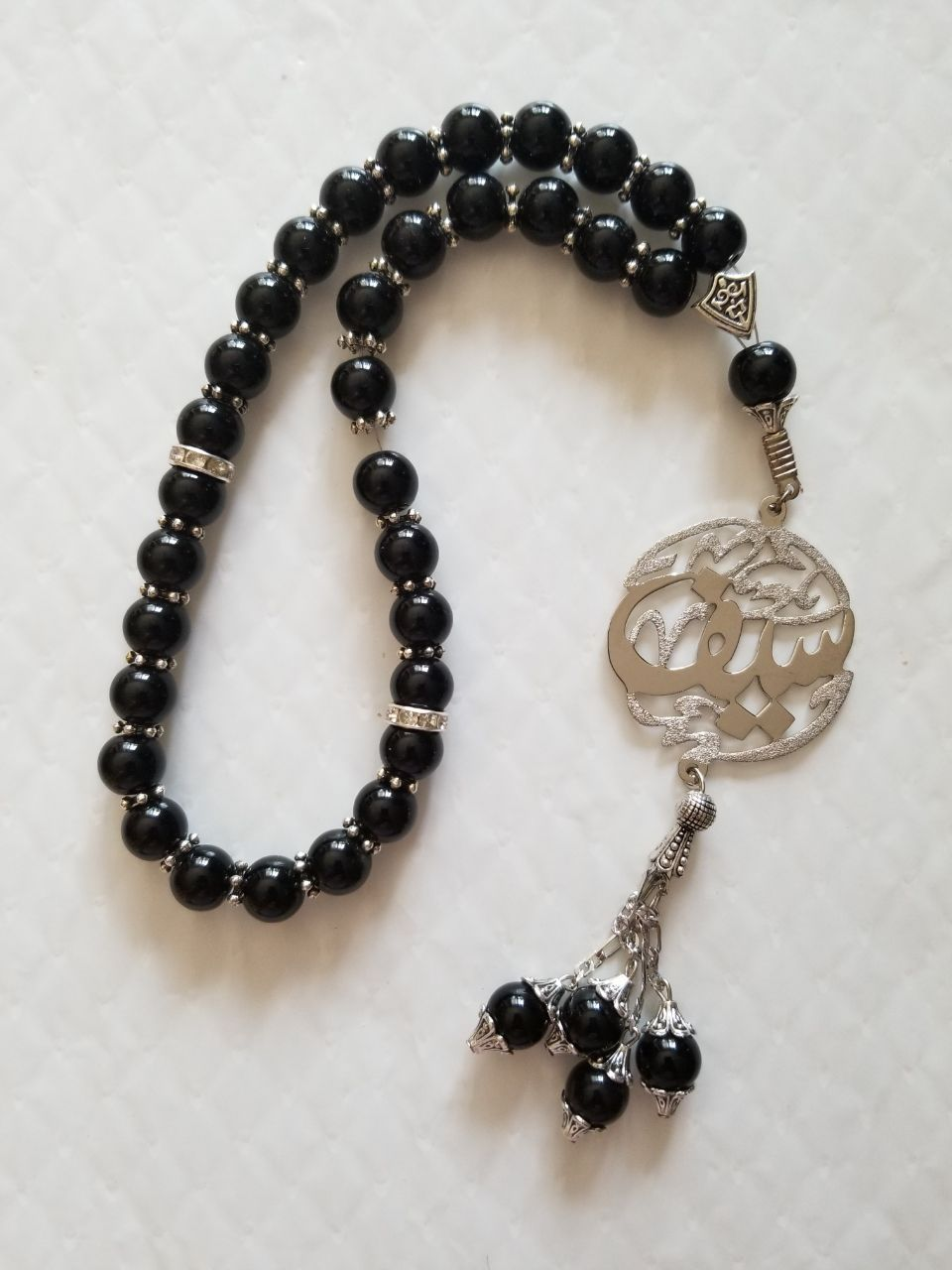 Silver Color Rosary