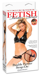 FETISH FANTASY POSABLE PARTNER STRAP ON -PD337223