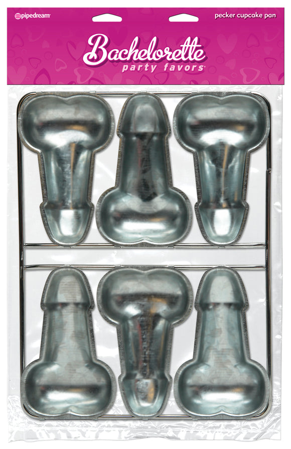 BACHELORETTE PECKER CUP CAKE PAN -PD840002