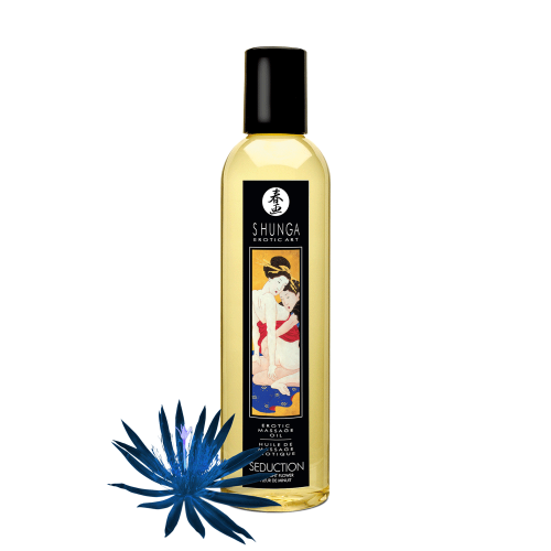 MASSAGE OIL ASIAN MIDNIGHT FLOWER SEDUCTION -SH1019
