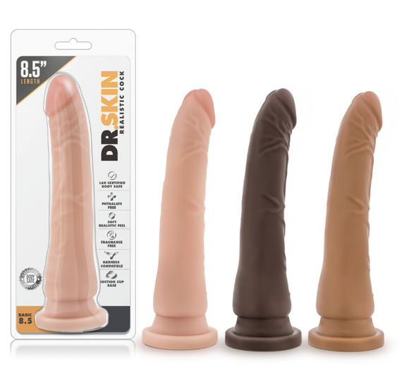 Dr. Skin - Realistic Cock - Basic 8.5 - BL-12053