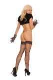 DIAMOND NET THIGH HI QUEEN -ELM1757QB