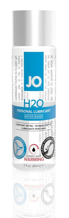 JO 2 OZ H2O WARMING LUBE -JO40080